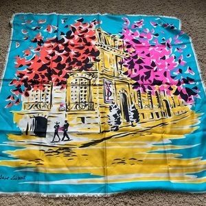 Yves Saint Laurent Accessories - Vintage YSL scarf